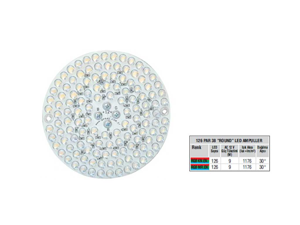 Rainbow 126 Par 38 Led Ampul