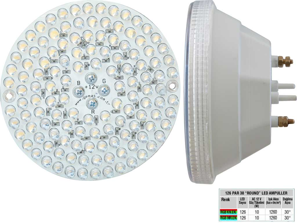Rainbow 128 Par 38 Led Ampul